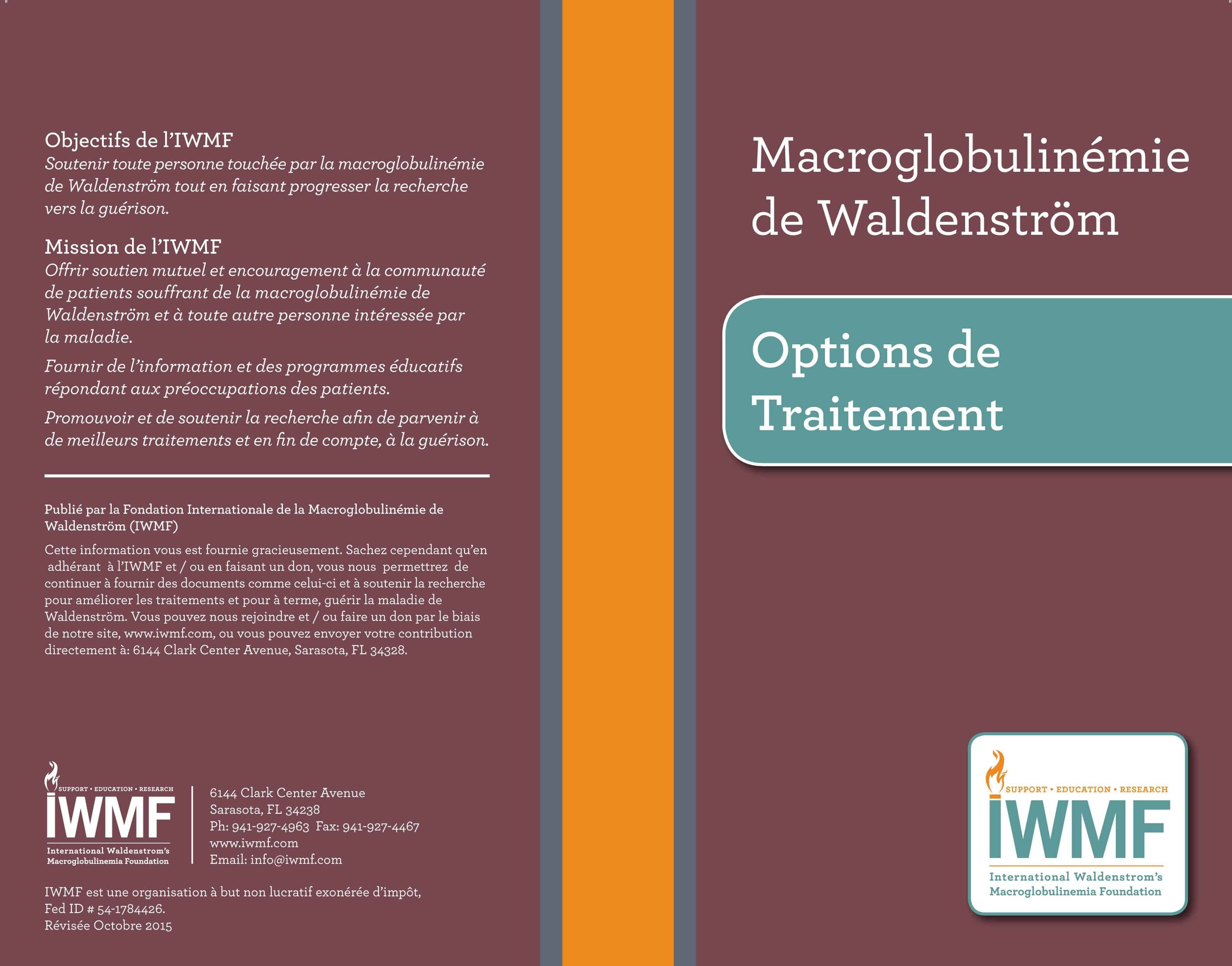Treatment Options 2013-Cover