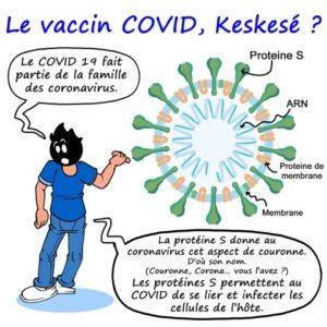 Le Vaccin COVID, Keskesé ?